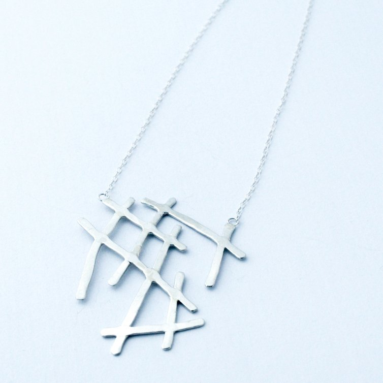 Line-Work Necklace