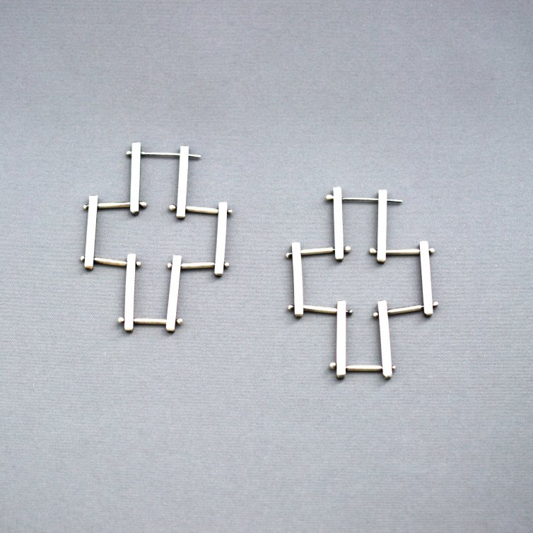 Swivel Bar Earrings